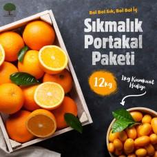 Sıkmalık Portakal Paketi - 12kg